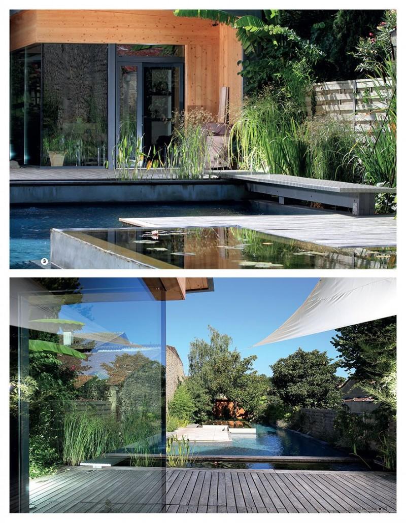 Jardin aquatique jardin piscine terrasse