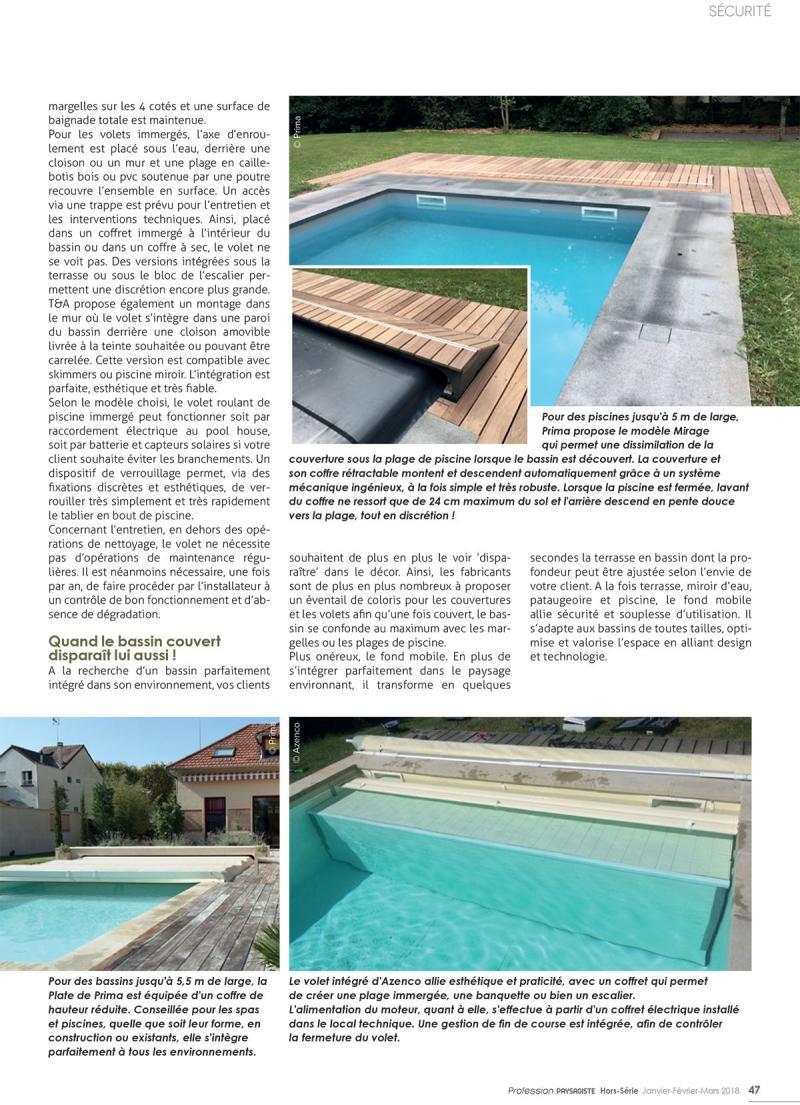 La sécurité du bassin en toute discrétion ! piscine avec fond mobile securite