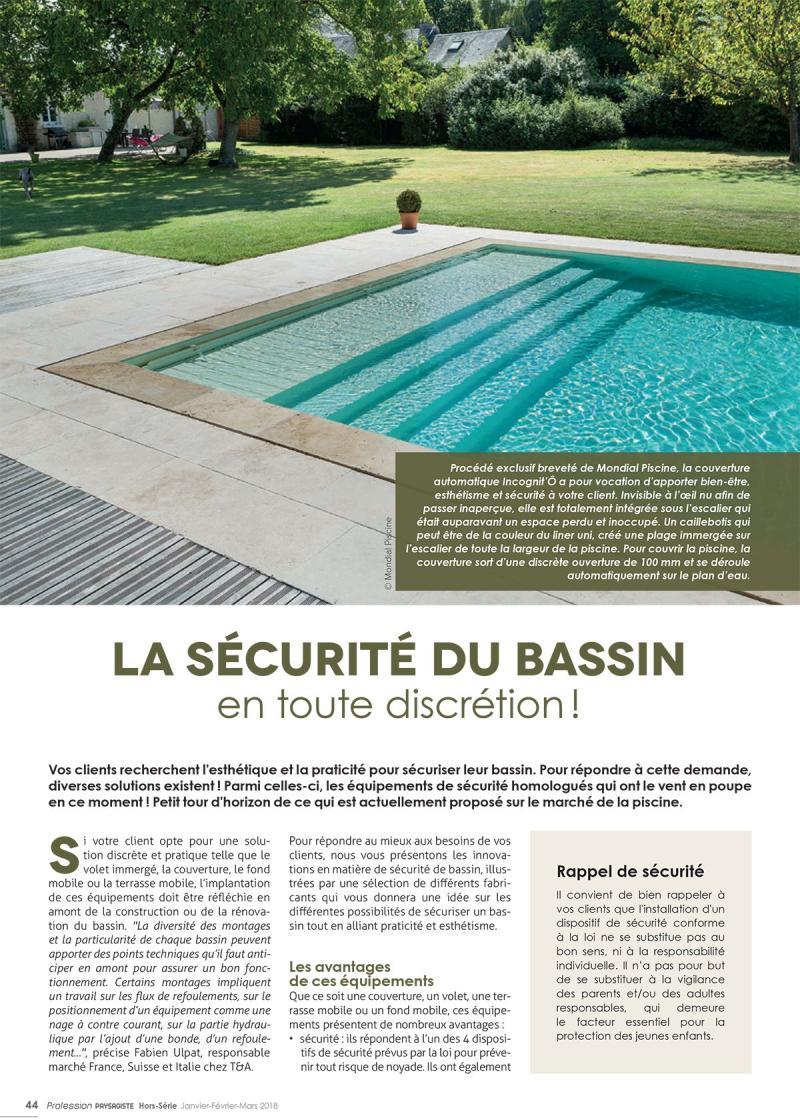 La sécurité du bassin en toute discrétion ! securite bassin