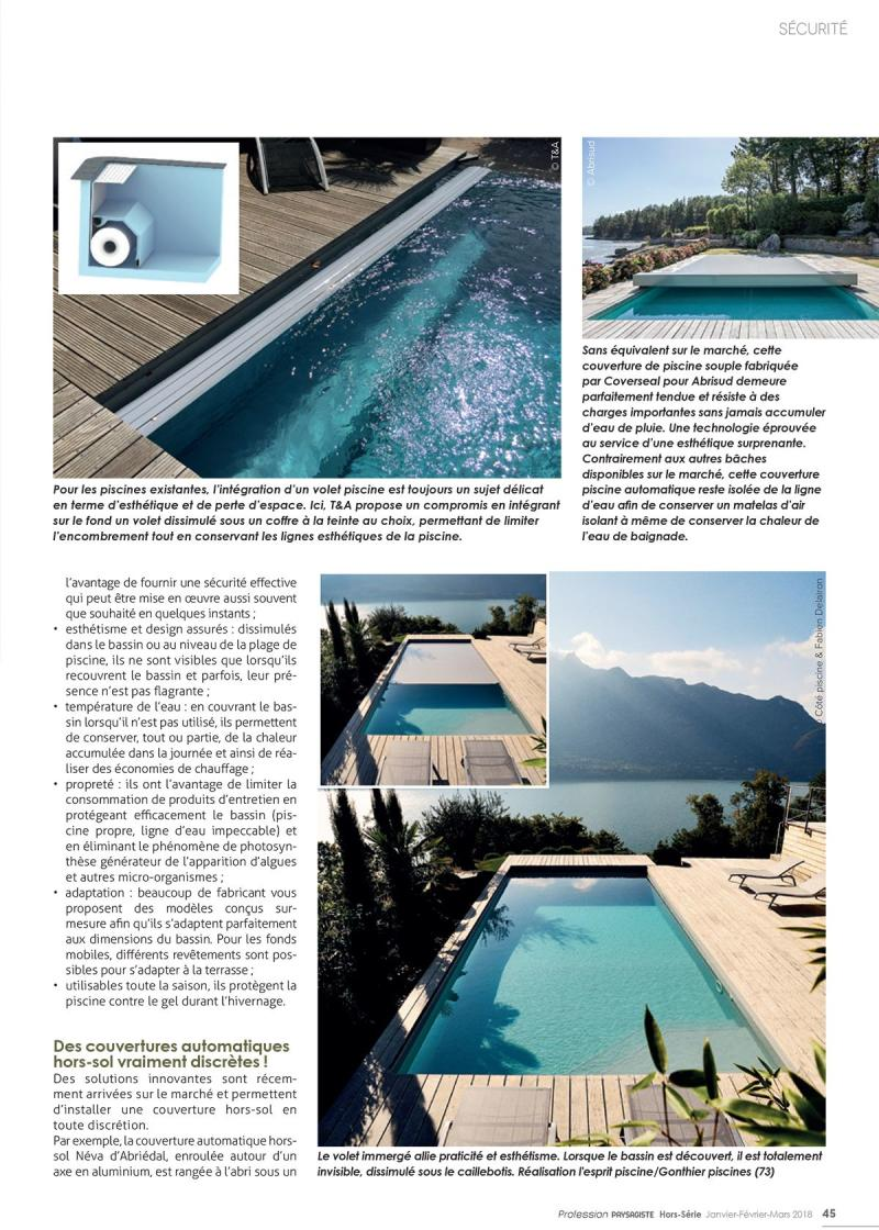 La sécurité du bassin en toute discrétion ! securite piscine