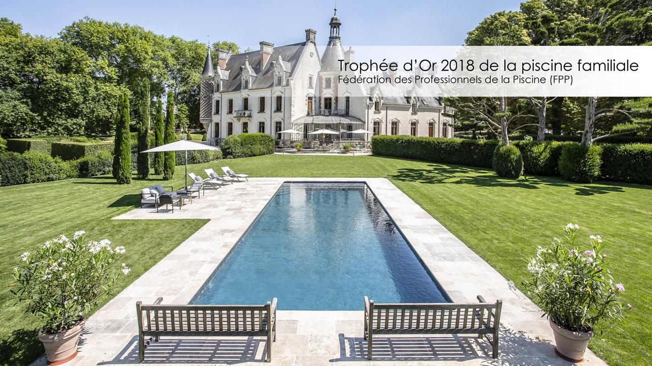 Trophée d'Or 2018 de la piscine familiale