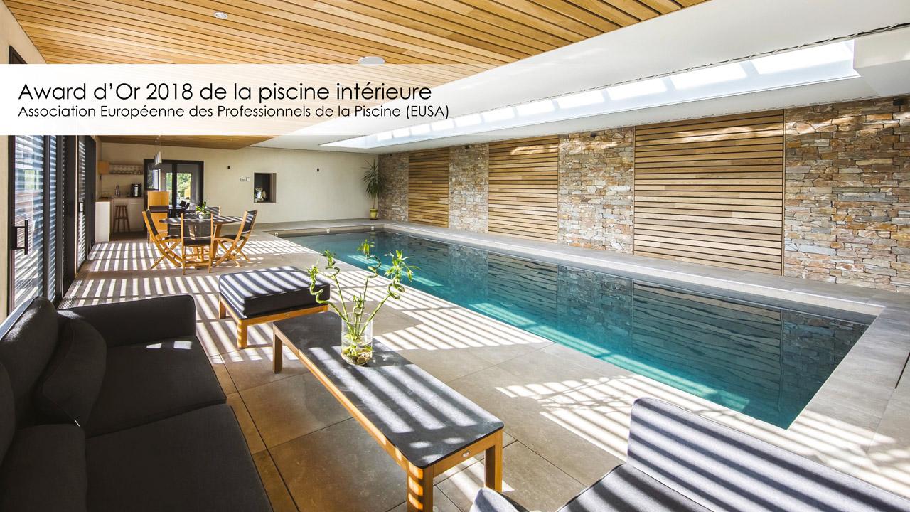 Award d'Or 2018 de la piscine intérieure