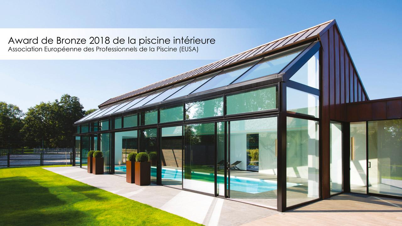 Award de Bronze 2018 de la piscine intérieure