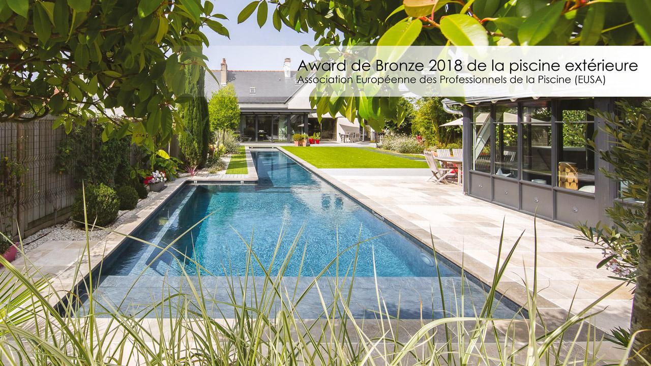 Award de Bronze 2018 de la piscine extérieure
