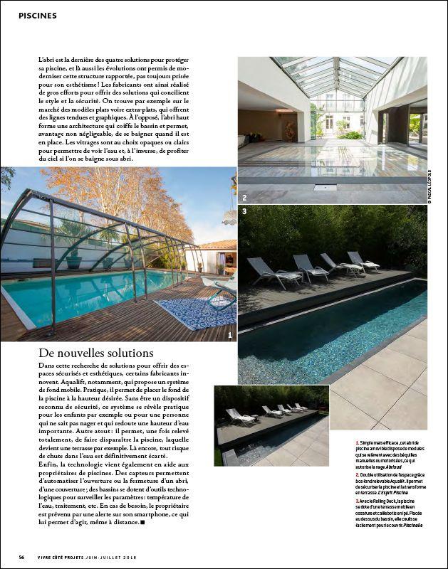Une piscine joliment protégée Une piscine joliment protegee 4