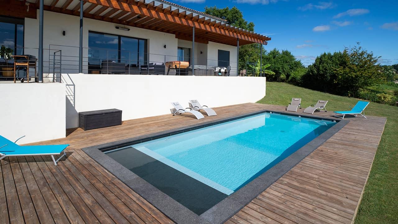 Ligne d'eau sur pierre ligne eau minerale banc volet esprit piscine 2020 74 Ligne d'eau minérale Gris anthracite