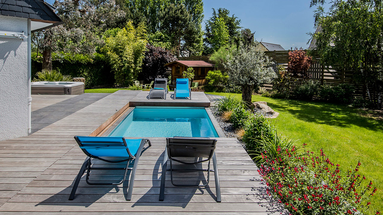 La piscine mystère mini piscine terrasse Piscine avec terrasse mobile