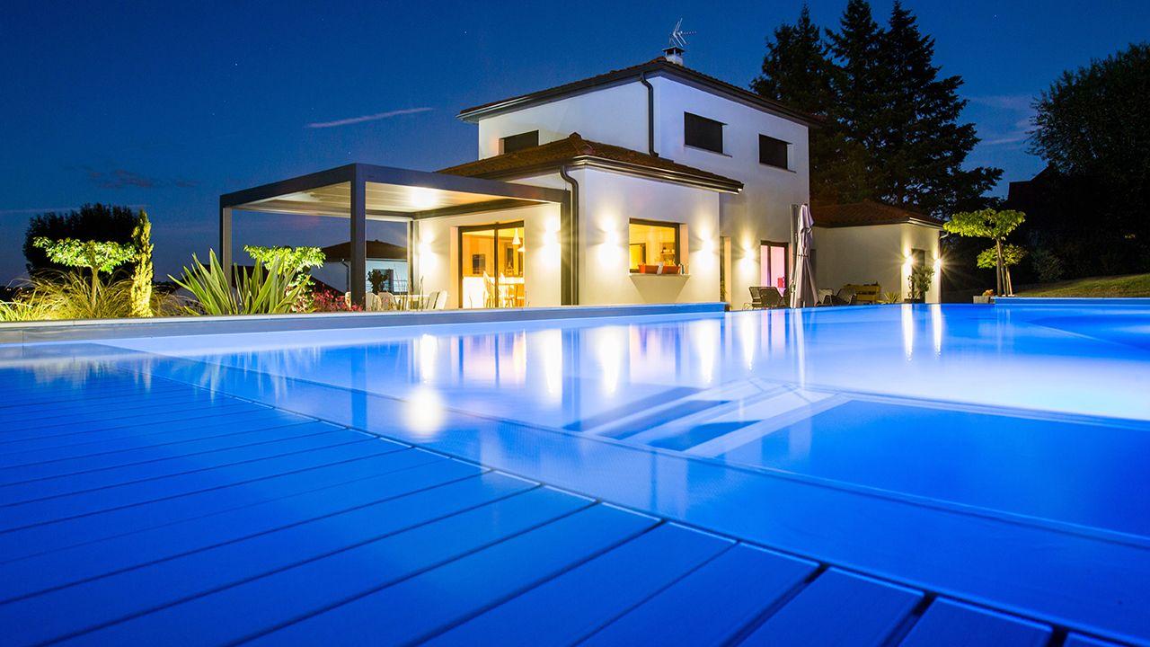 Bassin de détente piscine avec debordement Piscine à débordement Gris anthracite