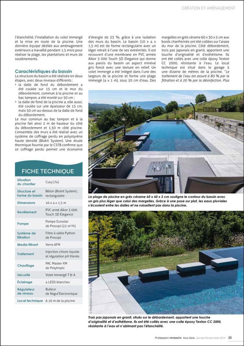 Gonthier piscines, un style contemporain Gonthier piscines style contemporain 3