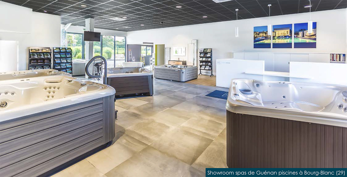 showroom guenan piscine