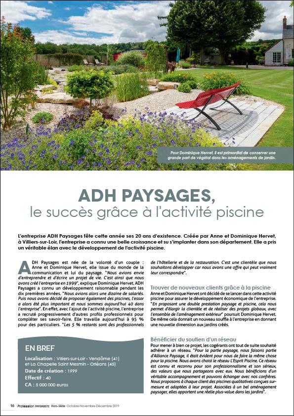 ADH Paysages : le succès grâce à l'activité piscine Adh piscines Le succes grace a l activite piscine 2