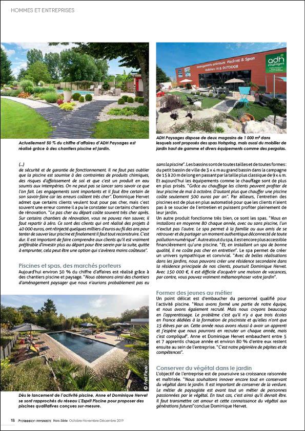 ADH Paysages : le succès grâce à l'activité piscine Adh piscines Le succes grace a l activite piscine 4