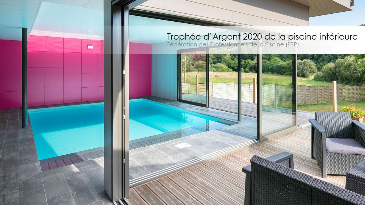 Le Trophée d'Argent FPP 2020 de la piscine intérieure