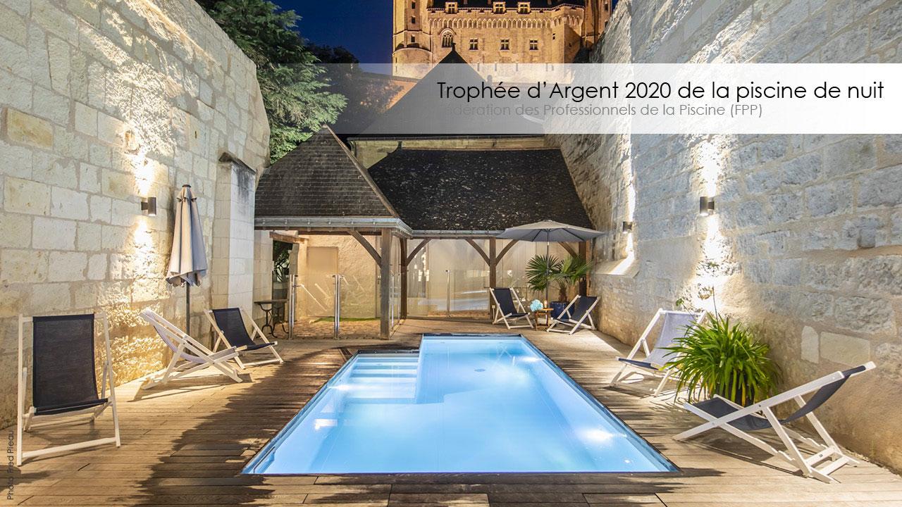 Le Trophée d'Argent FPP 2020 de la piscine de nuit