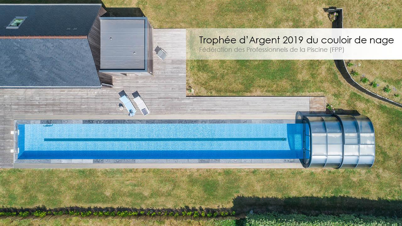Trophée d'argent 2019 du couloir de nage
