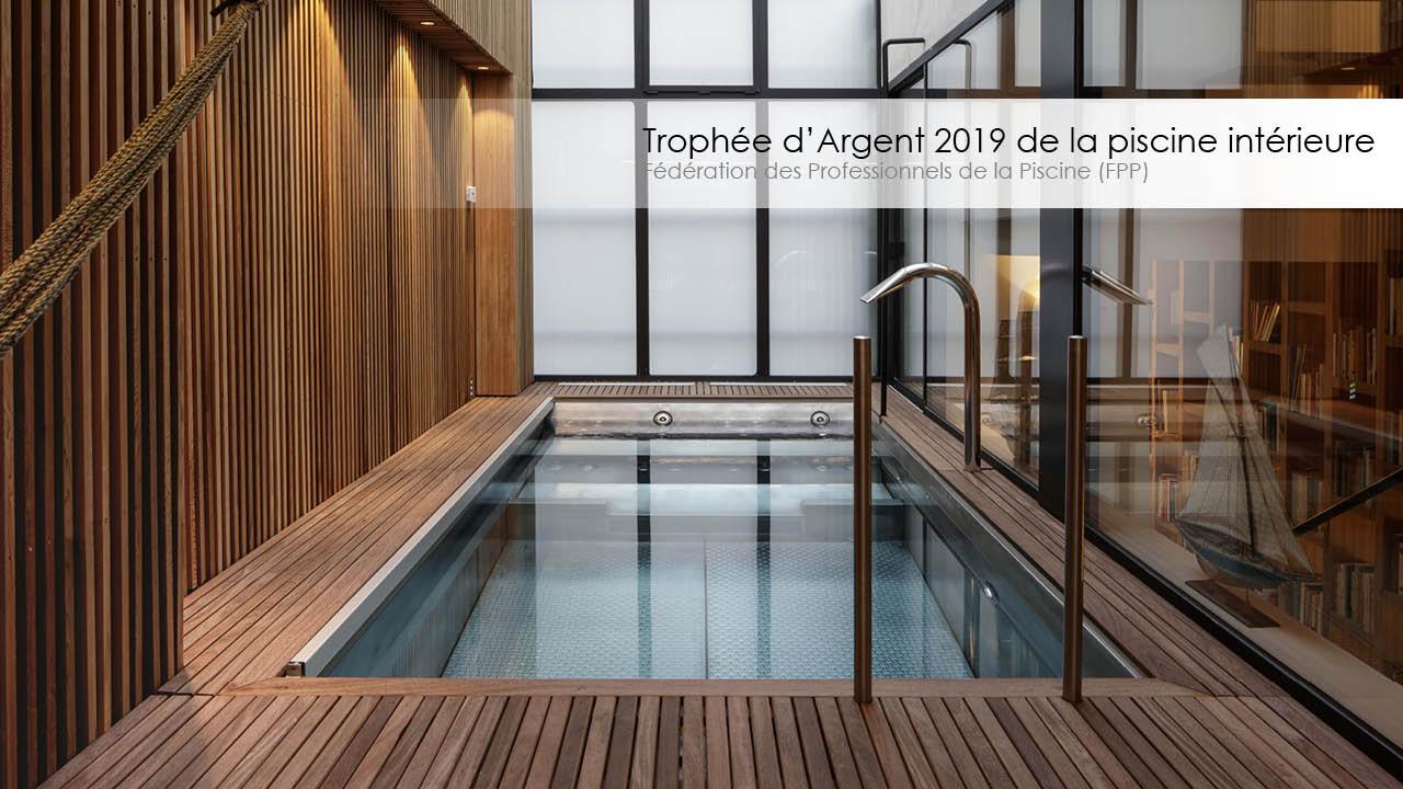 Trophée d'argent 2019 de la piscine intérieure