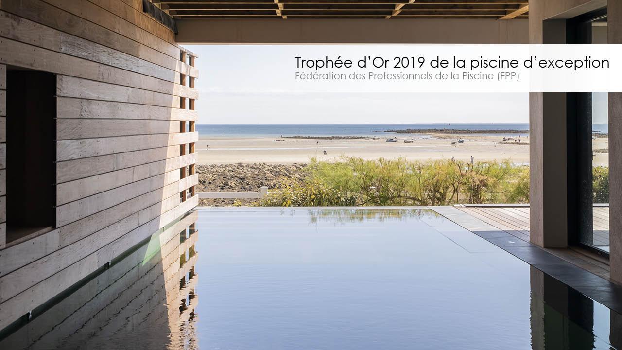 Trophée d'or 2019 de la piscine d'exception