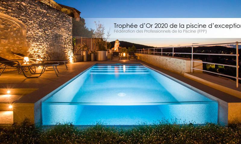 Slider Accueil Le Trophée d'Or FPP 2020 de la piscine d'exception