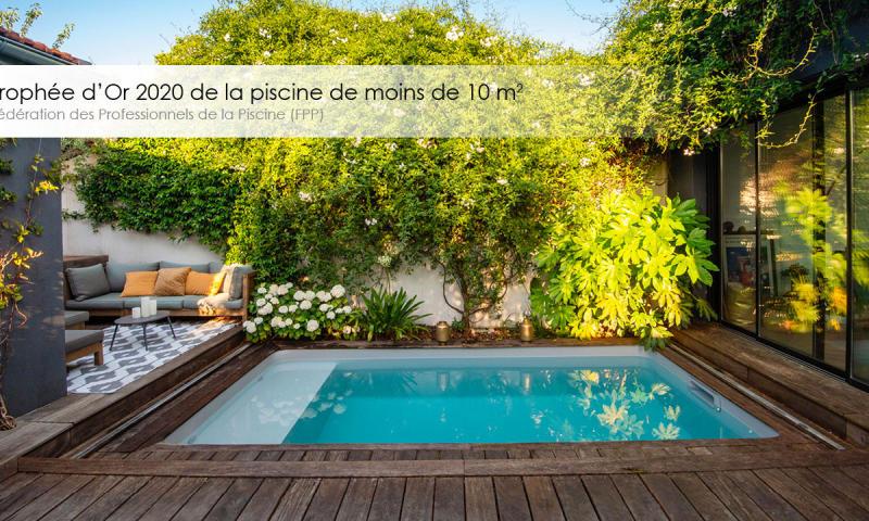 Slider Accueil Le Trophée d'Or FPP 2020 de la piscine inférieure à 10 m2