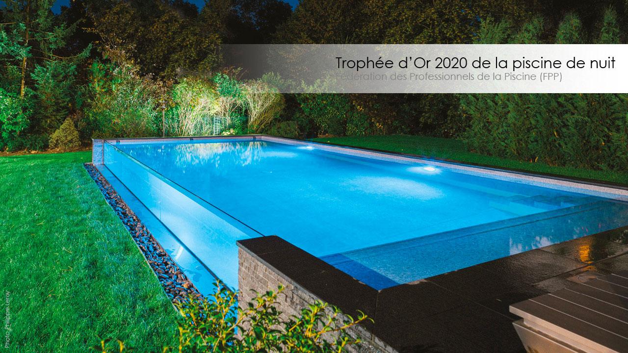 Le Trophée d'Or FPP 2020 de la piscine de nuit