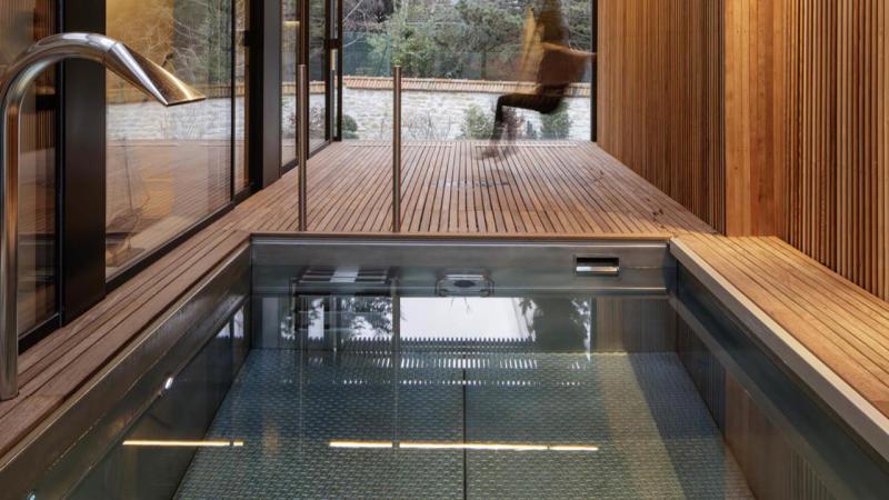 La nouvelle alliance piscine interieure en inox Piscine inox