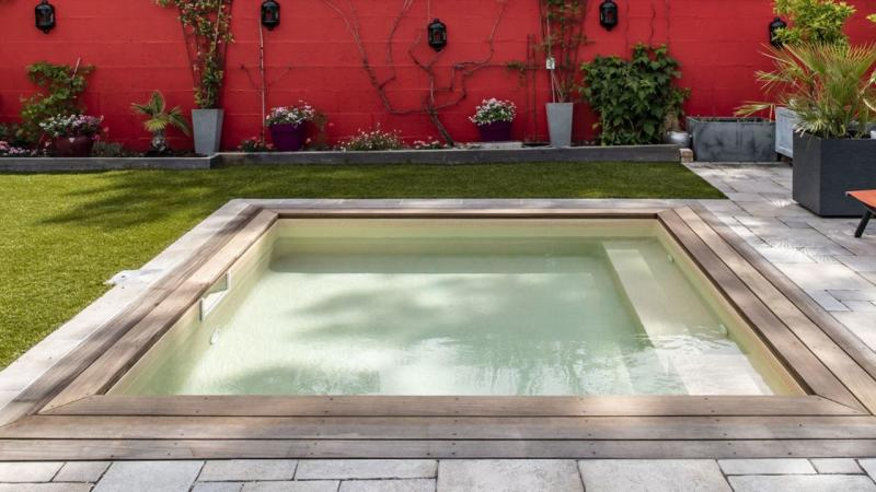 Carré de sable petite piscine carre sable 3D Sable