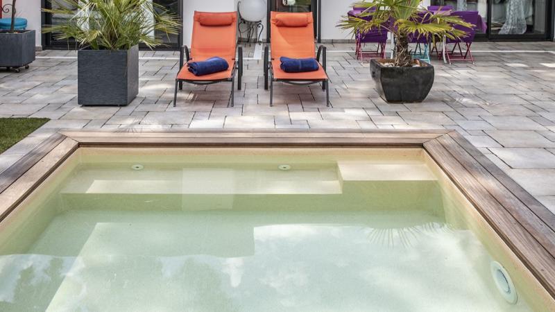 Carré de sable petite piscine sable 3D Sable