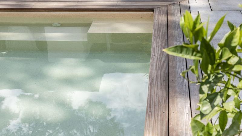 Carré de sable revetement piscine 3D Sable 3D Sable