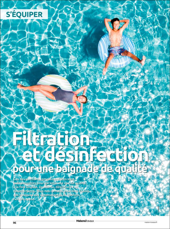 Bien filtrer et assainir l'eau bien filtrer et assainir leau piscine