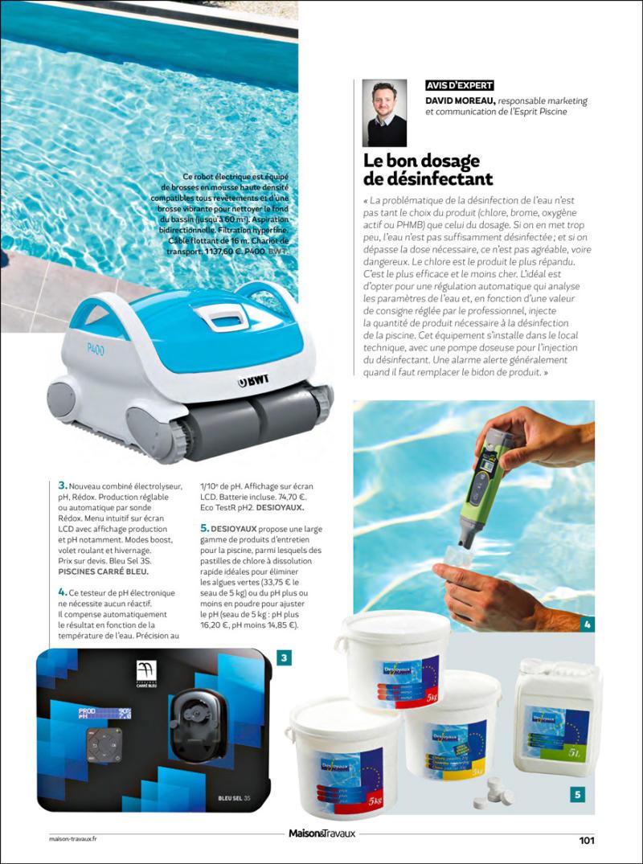Bien filtrer et assainir l'eau comment filtrer et assainir leau grace au robot electrique