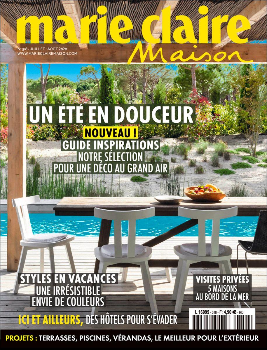 Piscine spectaculaire couverture magazine marie claire maison piscines spectaculaires