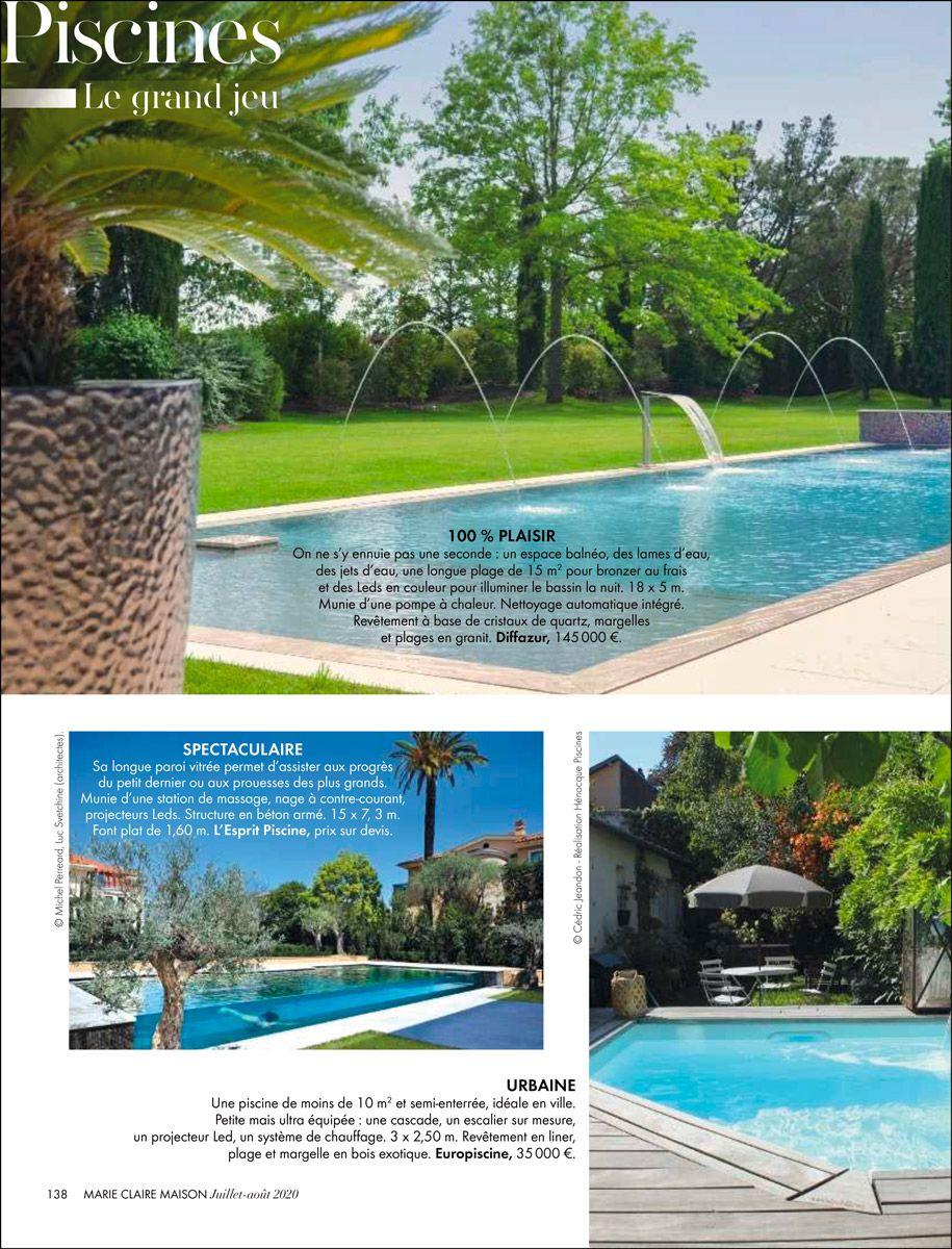Piscine spectaculaire extrait article sur les piscines spectaculaires