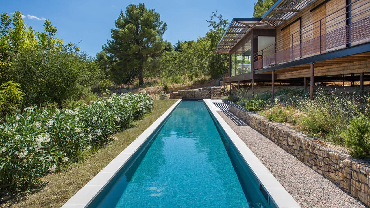 Cours d'eau infini couloir nage esprit piscine 2020 29 Couloir de nage Gris anthracite