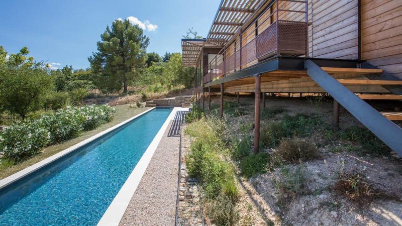 Cours d'eau infini couloir nage esprit piscine 2020 31 Couloir de nage Gris anthracite
