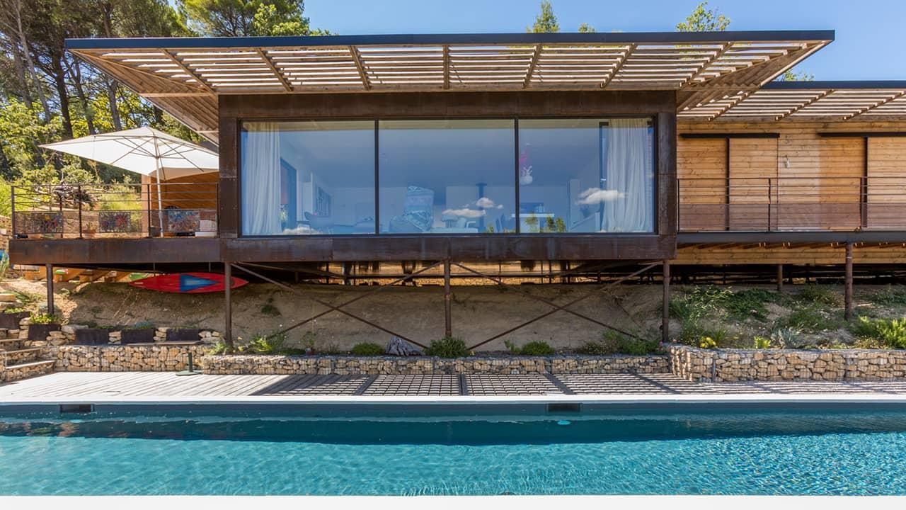 Cours d'eau infini couloir nage esprit piscine 2020 32 Couloir de nage Gris anthracite