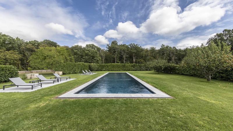 Jardin au cœur bleu couloir nage nature esprit piscine 2020 35 Couloir de nage 3D Gris ardoise