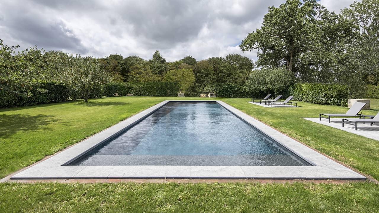 Jardin au cœur bleu couloir nage nature esprit piscine 2020 36 Couloir de nage 3D Gris ardoise