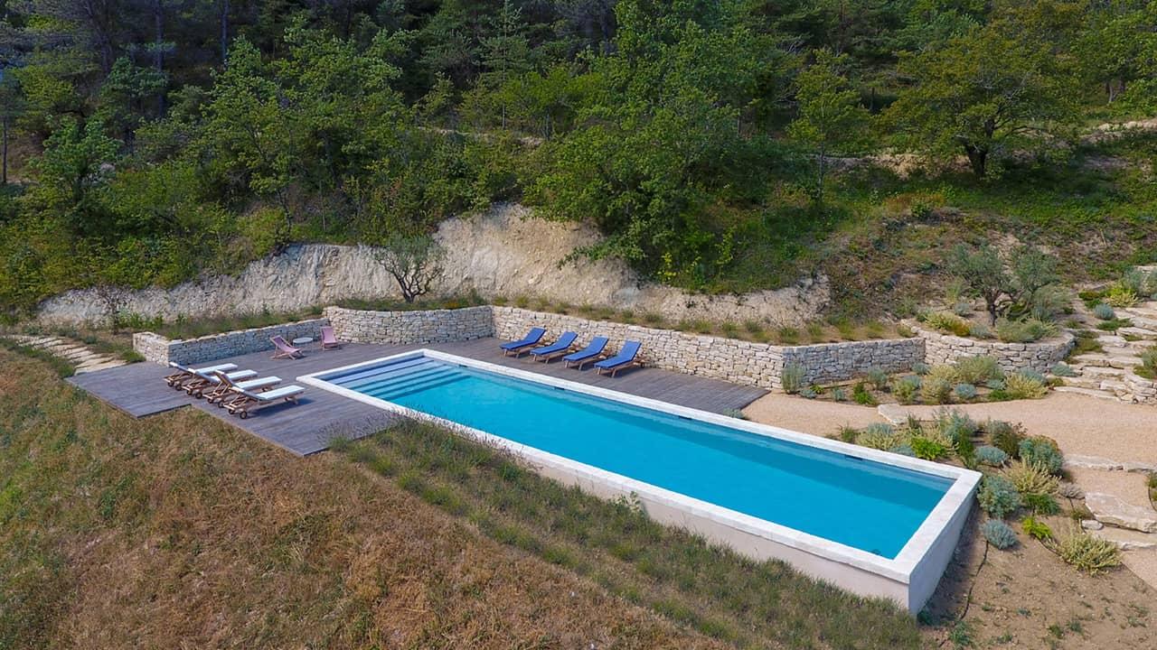 Baignade de quiétude couloir nage nature esprit piscine 2020 43 Couloir de nage Gris clair
