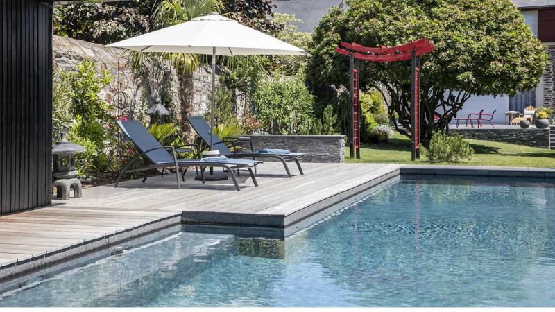Baignade en toute sérénité ligne eau minérale esprit piscine 2020 82 Ligne d'eau minérale 3D Gris béton