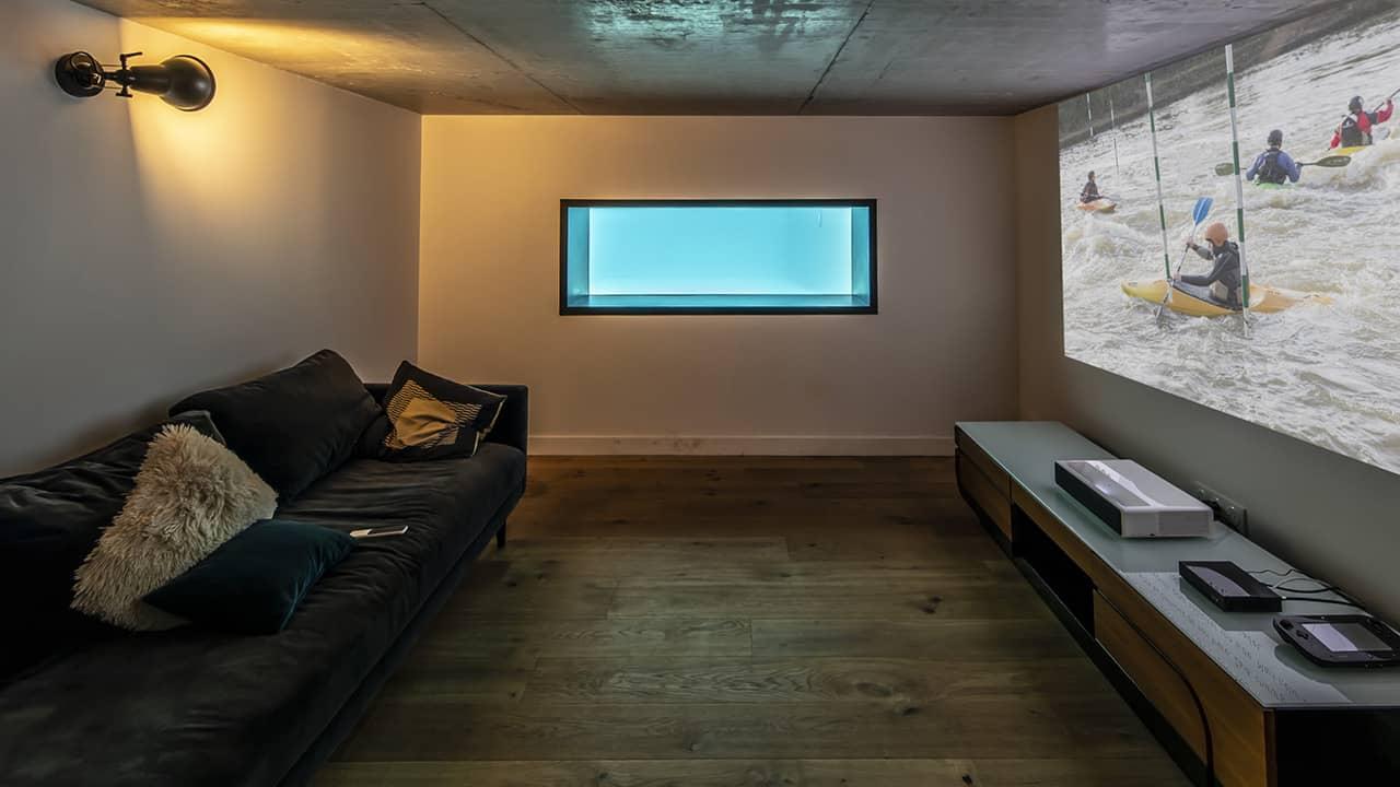 Cadre d'eau piscine fenetre verre esprit piscine 2020 99 Piscine à paroi vitrée Gris anthracite