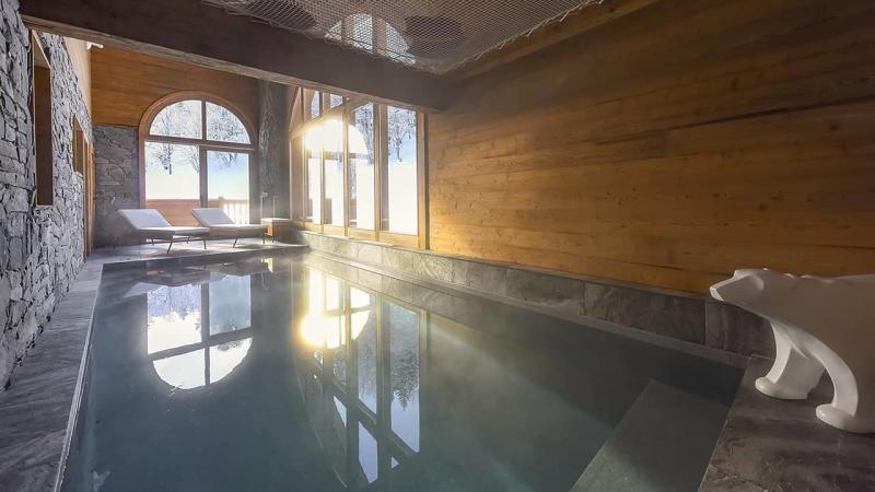 Montagne avec piscine piscine intérieure chalet montagne neige esprit piscine 2020 62 Piscine intérieure 3D Gris béton