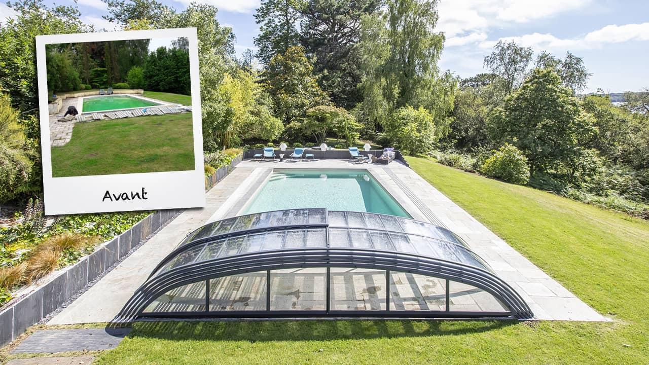 Baignade discrète rénovation piscine avant abri esprit piscine 2020 1 Rénovation de piscines