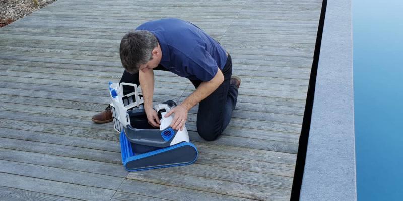 Réparation de robot de piscine