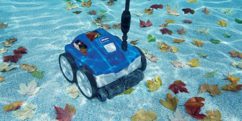 Robot de piscine surpression